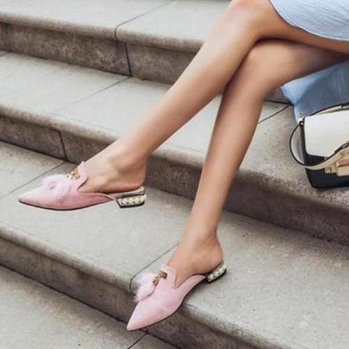 Women Casual Slip-On Mules