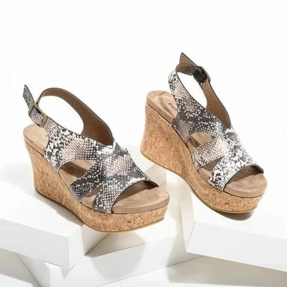 New Women's Fashion High Heels Platform Vinatge Sandals