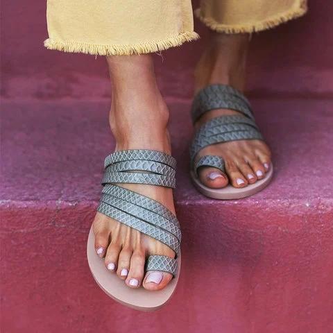 Summer Slip On Flat Sandals