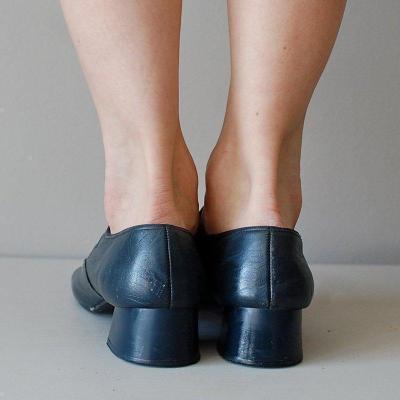Mary Jane Summer Low Heel Vintage Women Sandals