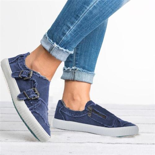 Waterproof Casual Fabric Sneakers