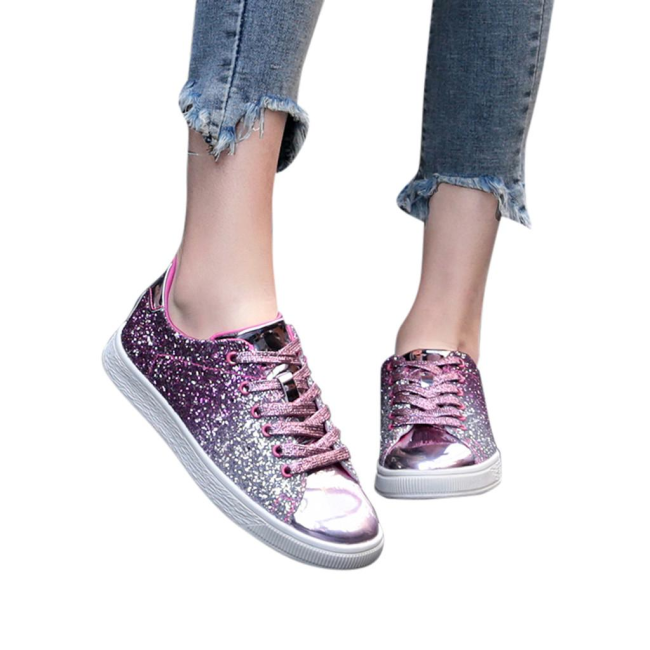 Shinin' All The Time Glitter Sneakers