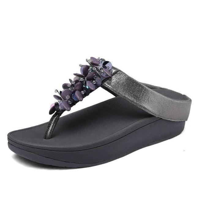 Fitflop Pansy Design Women Flip Flops Beach Women's Slippers