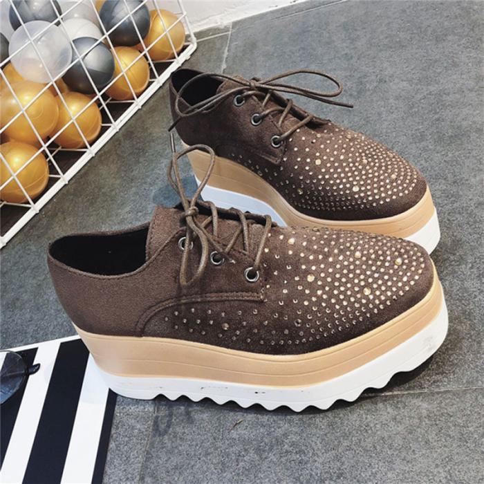 New Lady Women Sneakers Leisure Platform Shoes
