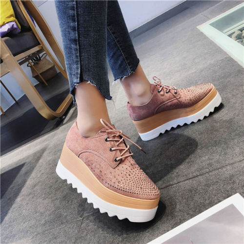 New Lady Women Sneakers Leisure Platform Shoes
