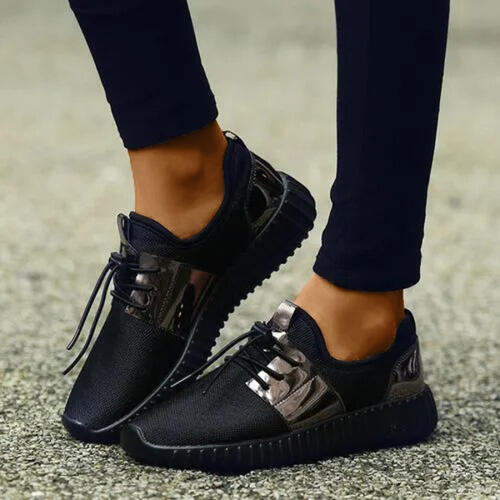 NEW! Women Fabric Mesh Casual Outdoor with Lace Shoes