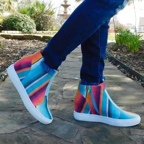 Color Block All Season Sneakers