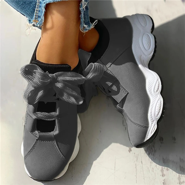 Athletic Cute Bow Knot Platform Sneakers