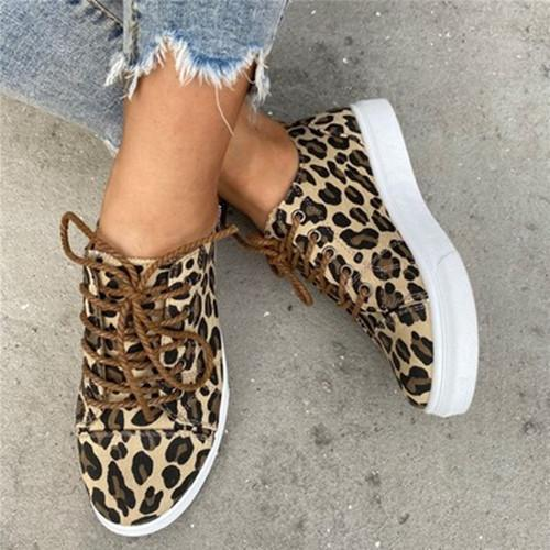 Women Casual Lace Up Sneakers