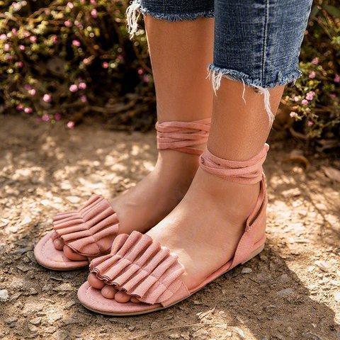 Fashion Cute Flower Women Sexy Sandals