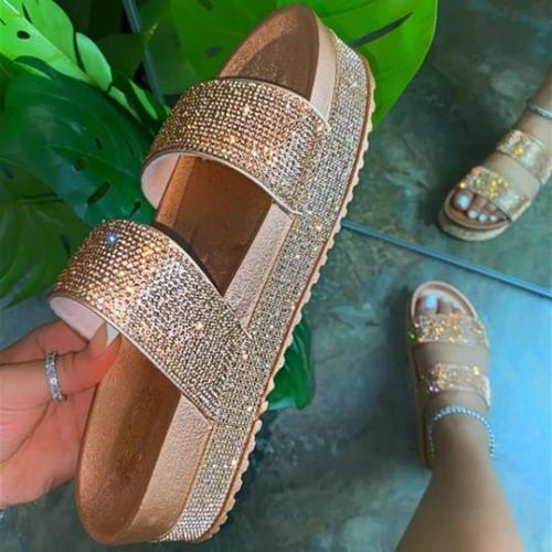 Comfy Sole Platform Sandals