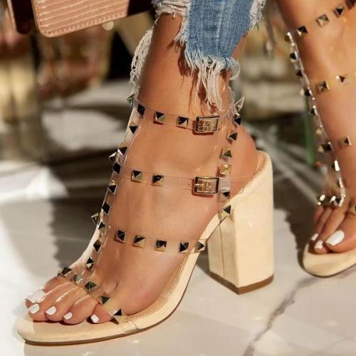 Single Sole Heel Sandals