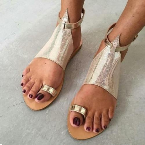 Women's flat casual sandals