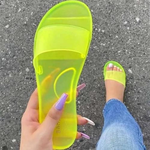 Summer Slip On Flat Heel Snadals