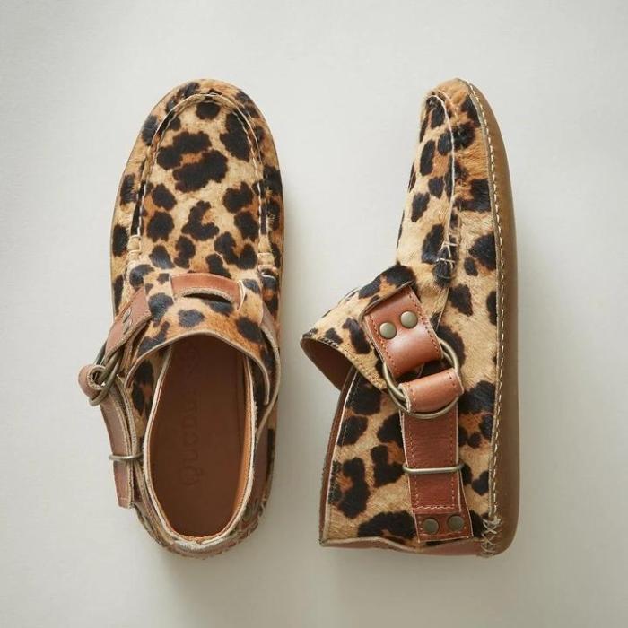 Women All Season Flat Heel Buckle Boots