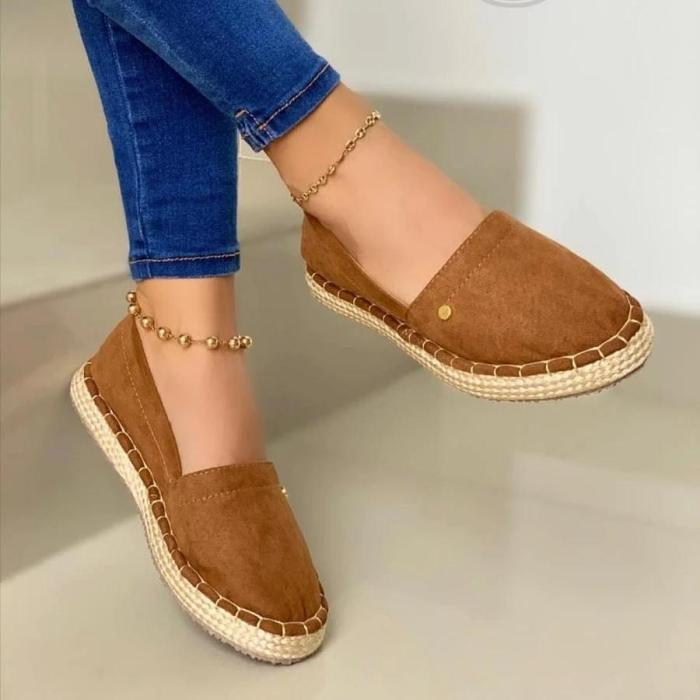 Women's Comfy Slip-On Casual Loafers