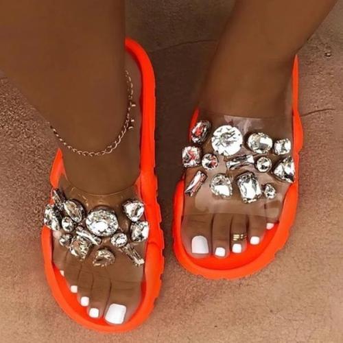 Brick Stone Summer Women's Slippers
