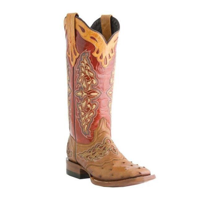 Retro Low Heel Boots