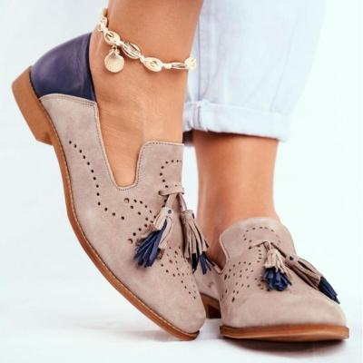 Women Breathable Suede Loafers