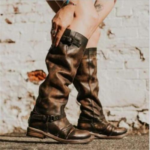 Winter New Comfortable Wild High Tube Rider Boots