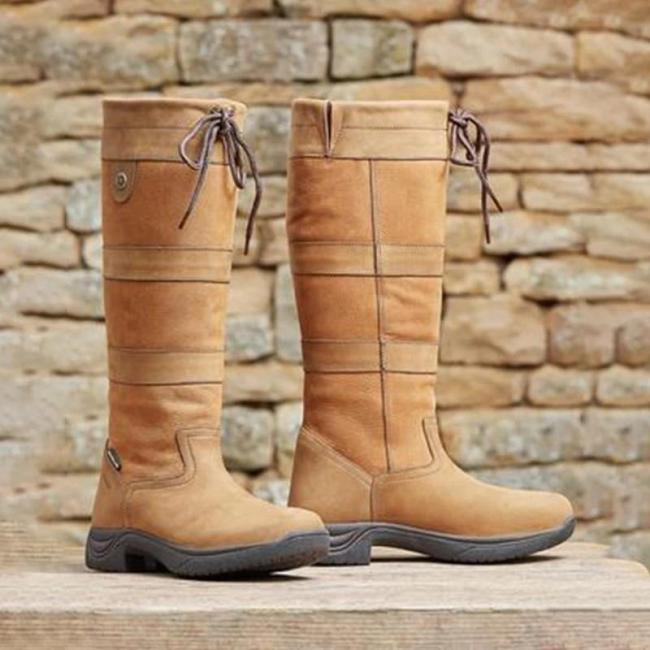 Fashion Waterproof Breathable Knee High Boots