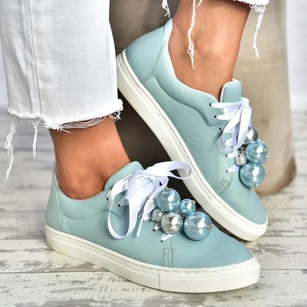 All Season Flat Heel Sneakers