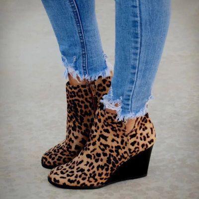 Wedge Heel All Season Ankle Boots
