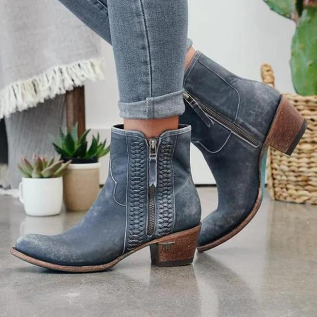 Holiday Artificial Leather Boots