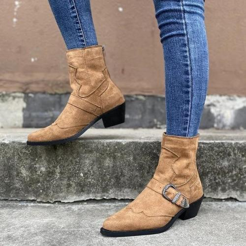 Zipper Daily Boots