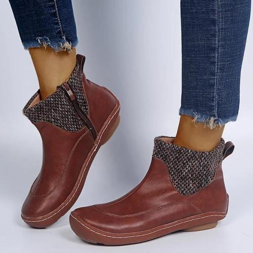 All Season Outdoor Zipper Boots