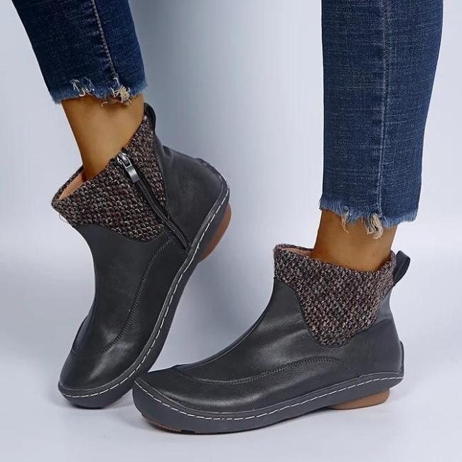 All Season Outdoor Zipper Boots
