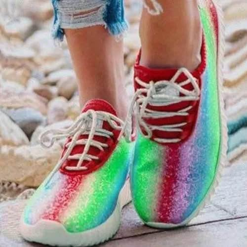 Women Casual Colorful Sneakers