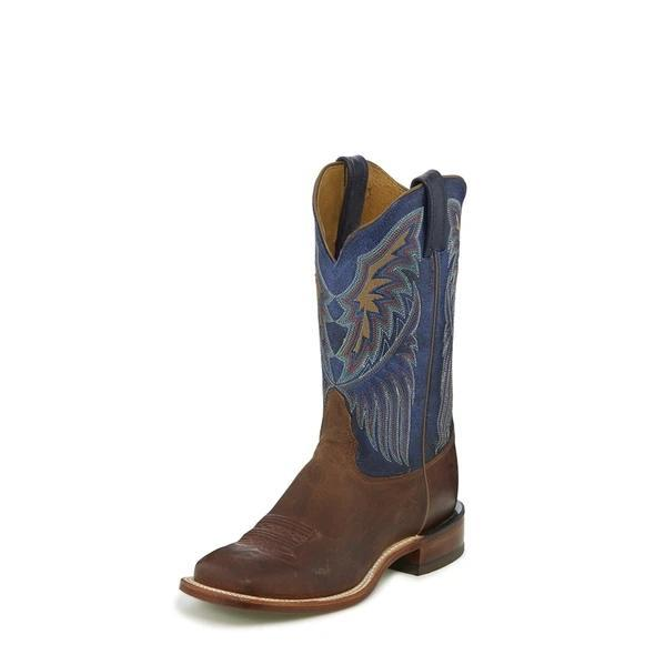 Women's embroidered short riding boots western boots