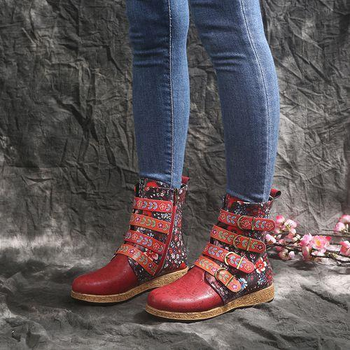 National Style Short Boot