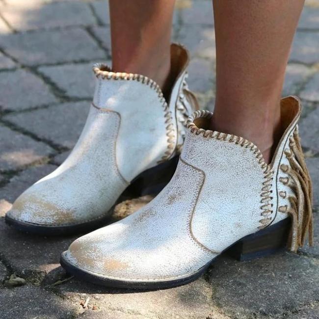 Seaside Block Heel Boots