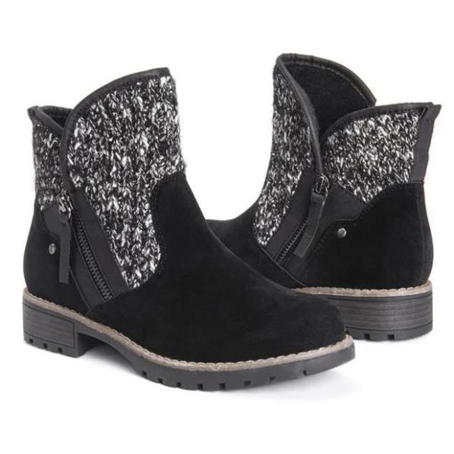 Zipper Winter Boots