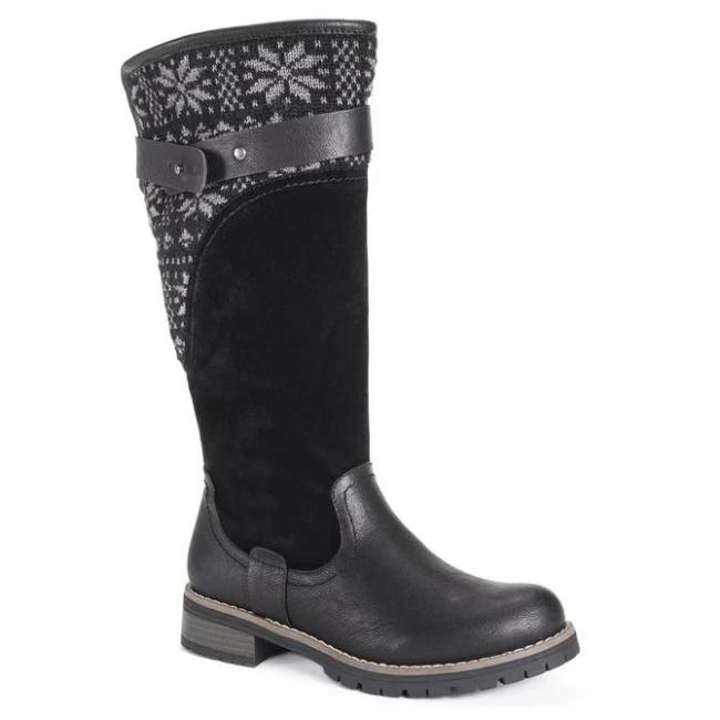 Winter Split Joint Holiday Boots
