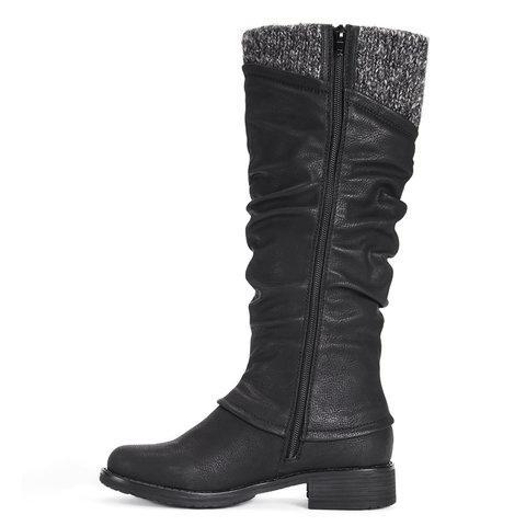 *Women's Flat Heel Casual Winter Boots