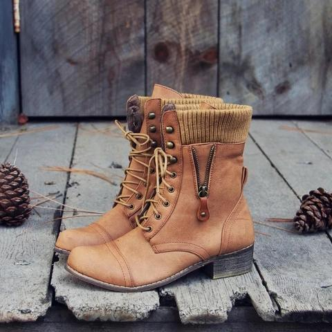 Daily Warm Woven Boots