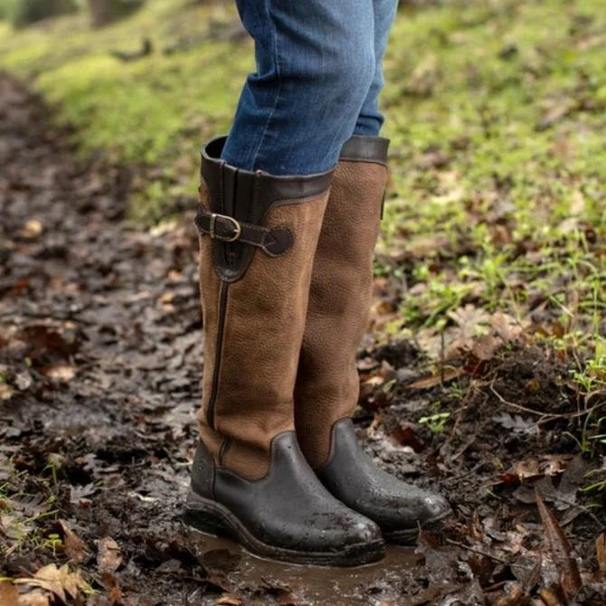 Leather Casual Boots