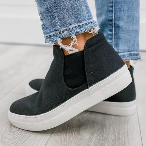 All Season Fabric Sneakers