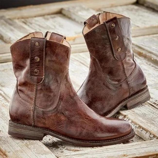 Women Casual Vintage Boots