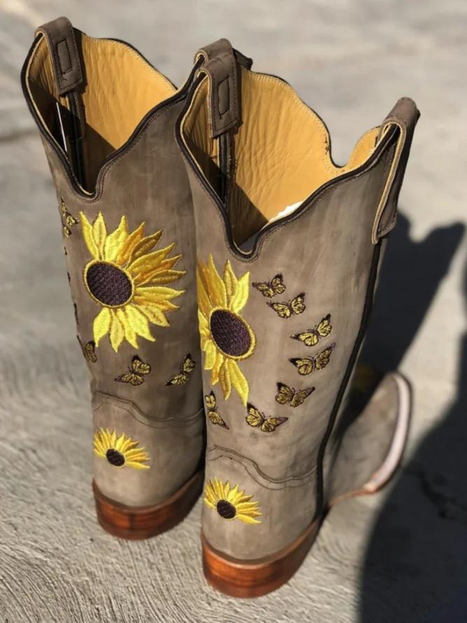 Winter Daily Closed Toe Boho Boots