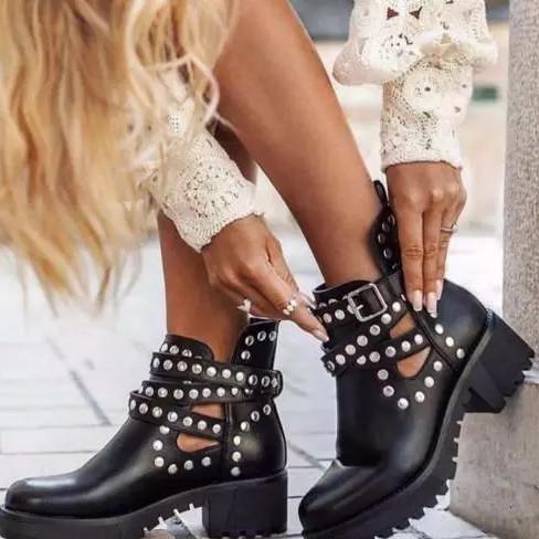 Rivet Boots