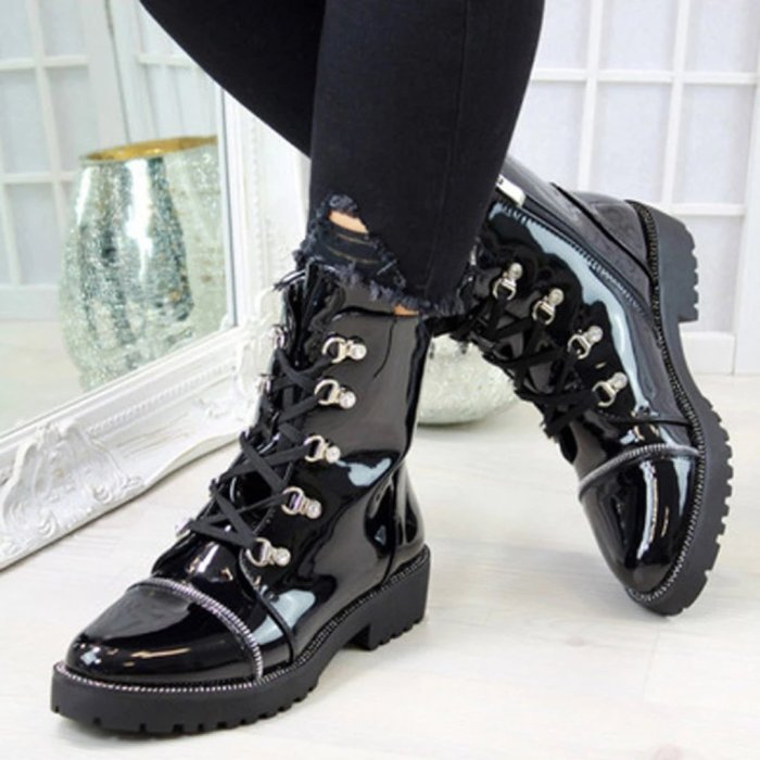 Pu Martin Boots