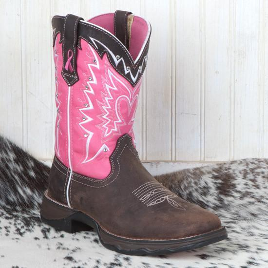 Women's  Pink Ribbon Boots