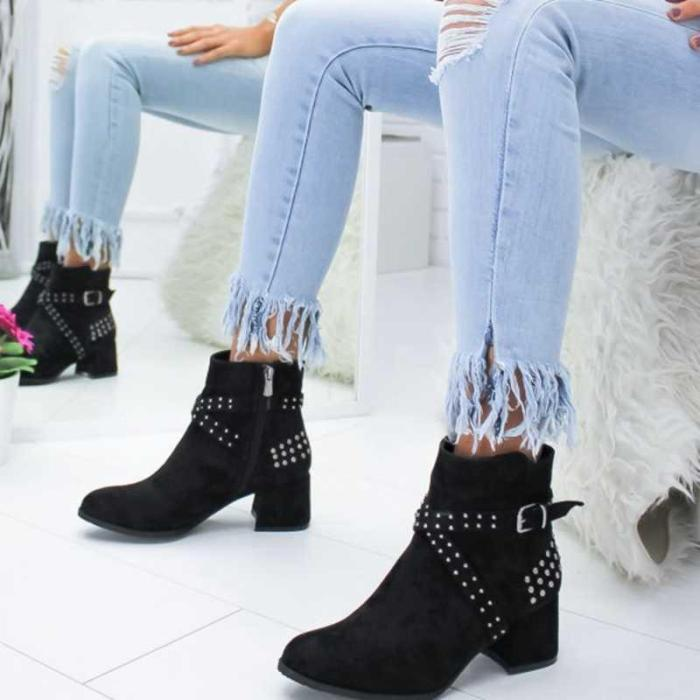 Ladies Party Western Stretch Fabric Boots