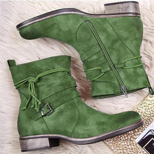 Women's Comfortable Flat Boots