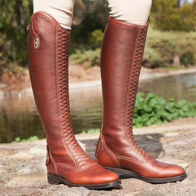 Pu Lace Boots