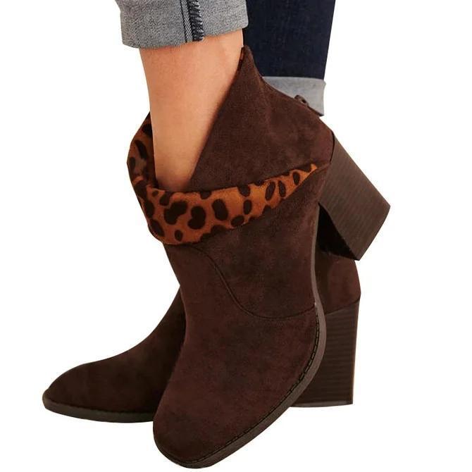 Spring Block Heel Boots